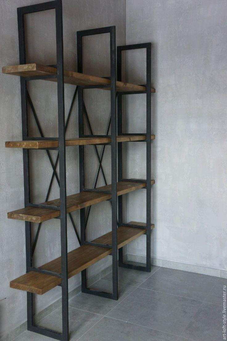 Купить Стеллаж - лофт стиль loft stile. - лофт, лофт стиль, лофт мебель