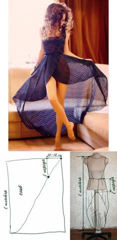 Beautiful Dresses: Decorative Sewing....♥ Deniz ♥