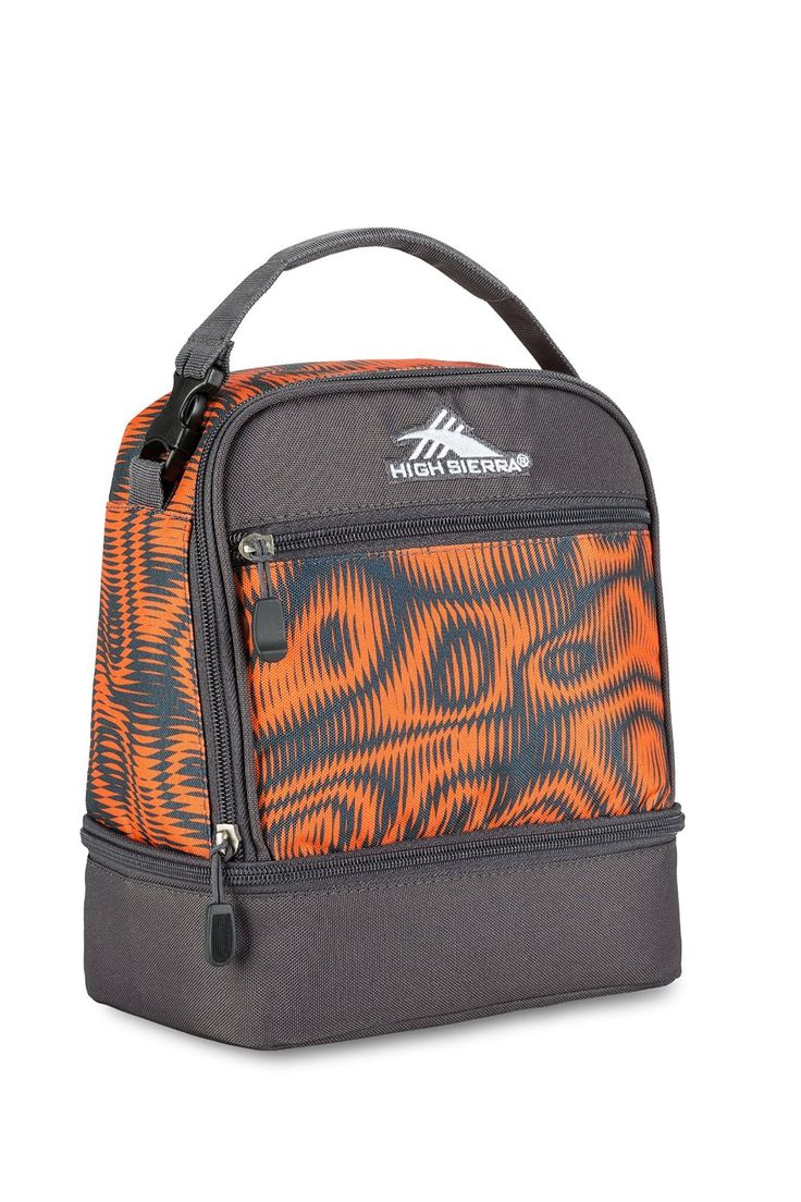 Amazon.com: High Sierra Stacked Compartment Lunch Bag, Faze/Mercury: Sports & Outdoors