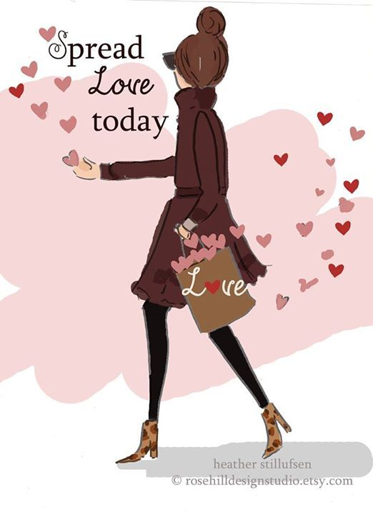 Spread love today..