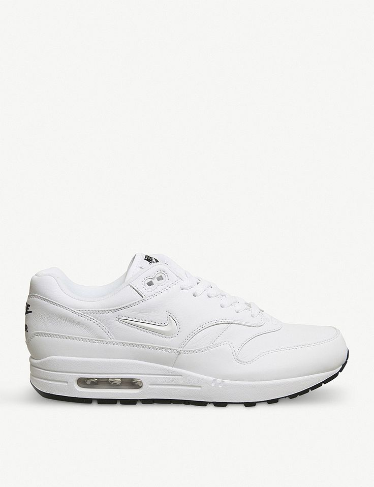 NIKE Air Max 1 Jewell leather trainers