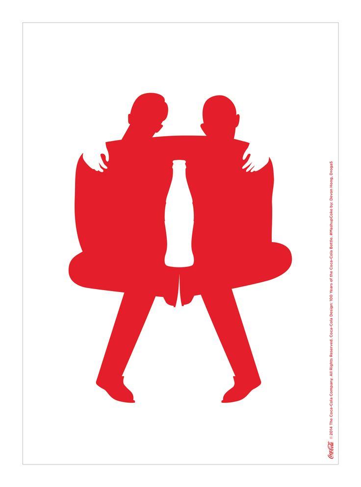 Kiss The Past Hello. Coca-Cola Design: 100 Years of the Coca-Cola Bottle. #MashupCoke by: Devon Hong, Droga5