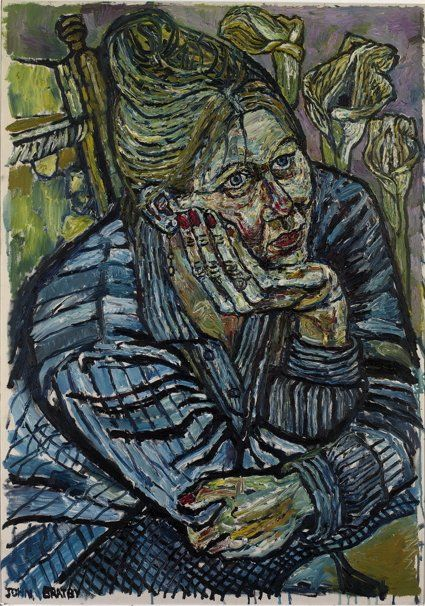 John Bratby Kitchen Sink | John Bratby | They taught me immobility in Madras | Julian Hartnoll