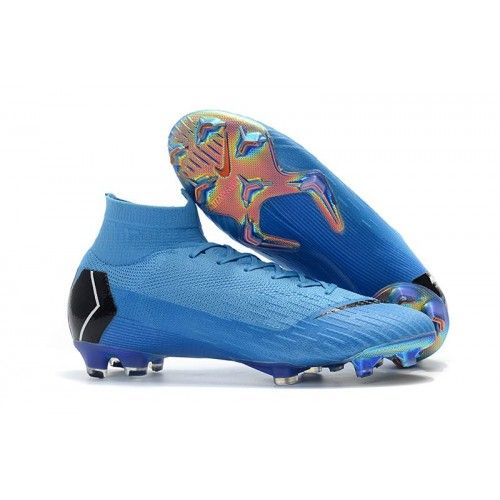 7d0bfeadd Exclusive Nike Mercurial Superfly VI 360 Elite FG Mens Football Boots - Blue  Black
