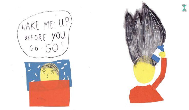 """#81 Je wordt elke dag wakker met """"Wake me up before you go-go"""" van Wham – OF – Je spuit elke dag een bus haarspray in je haar"""