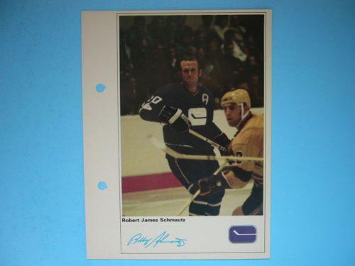 1971-72-TORONTO-SUN-NHL-ACTION-HOCKEY-PHOTO-BOBBY-SCHMAUTZ-SHARP-71-72