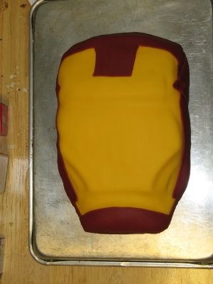 Ironman Cake Tutorial