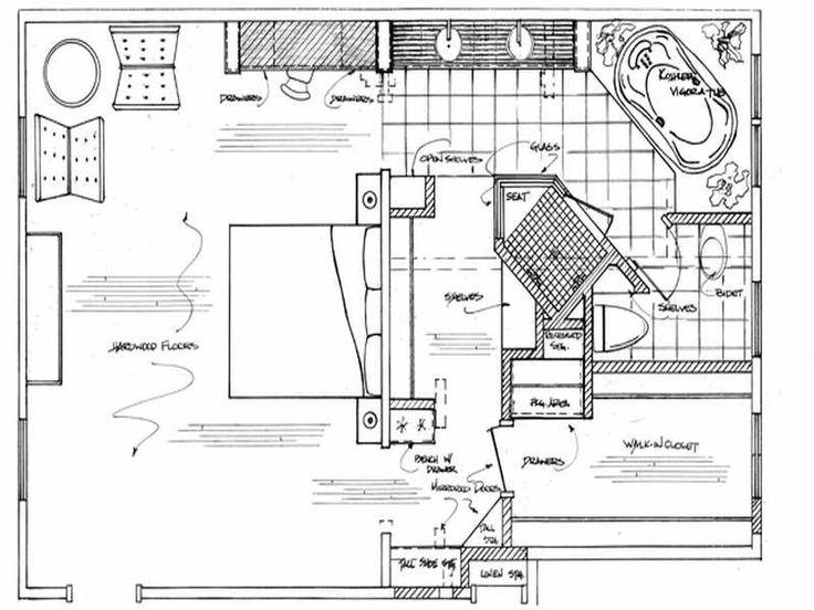 Master Bathroom Floor Plans Ideas | Bath and Kitchen