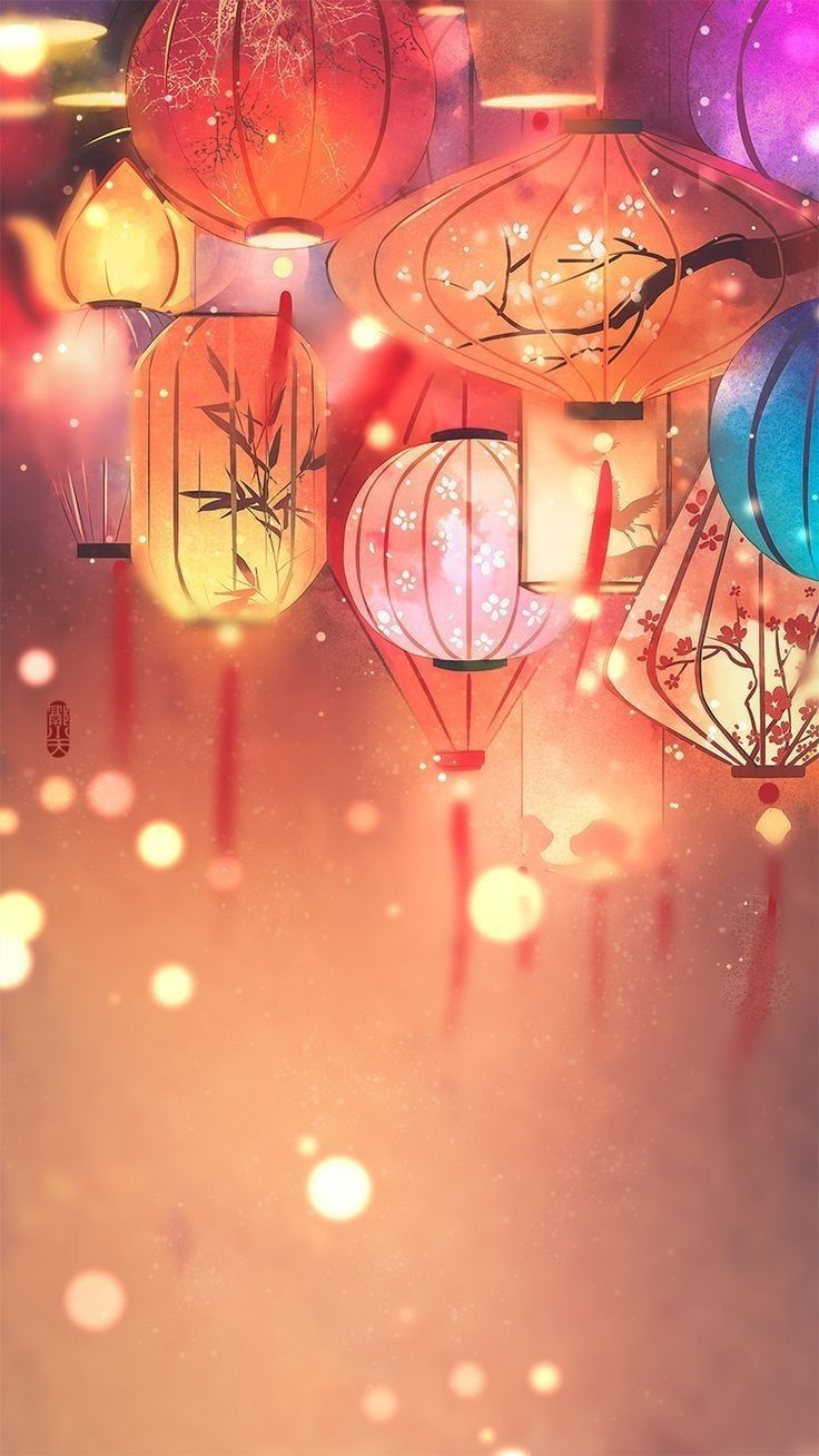 A World of Fortunes Chinese Aesthetics Lantern