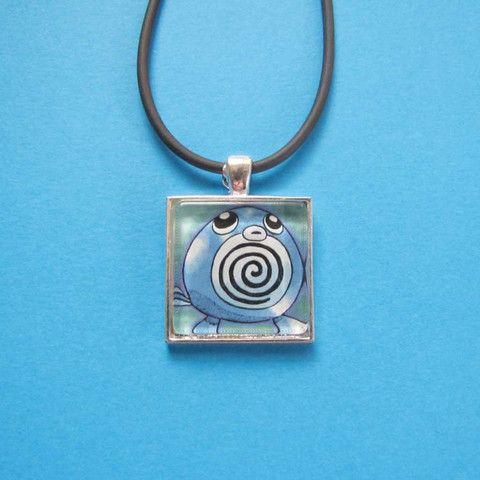 Pokemon Pendant - Poliwag only $8 @ OMG! Cute Kitten - Australian Handmade Jewellery