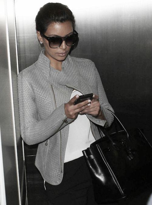 kim kardashian - love the whole look especially the jacket!