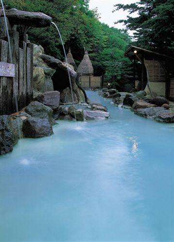 大露天風呂『大気の湯』