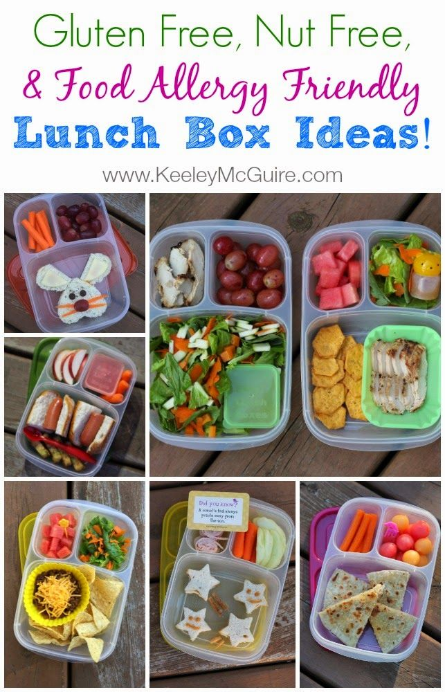 Keeley McGuire: Lunch Made Easy: Weekly School Round-Up #NutFree #GlutenFree #AllergyFriendly