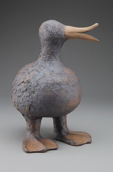 Round Duck with a Long Beak H(19 inches)