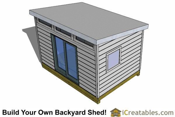 1000 ideas about modern shed on pinterest tiny houses for 10x14 shed floor plans