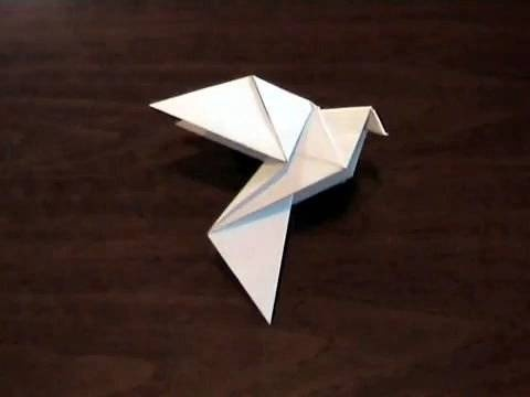 How to make an Origami Dove- DAY 5