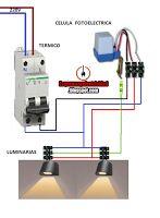 Esquemas eléctricos: CELULA FOTOELECTRICA