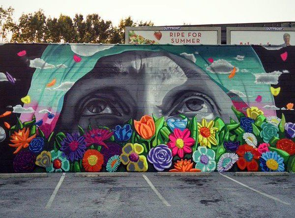 25 great ideas about street mural on pinterest street for Atlanta mural artist