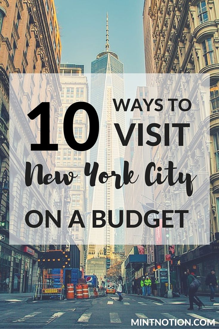 New York City on a budget?! Sounds almost impossible when airfare and hotel prices today are through the roof. Click here to find out the best 10 ways to visit NYC on a budget!
