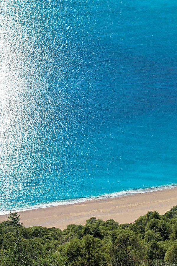 Egremni Beach, Lefkada, Greece - i so wish i could so somewhere warm, anywhere would be fine, just somewhere,.