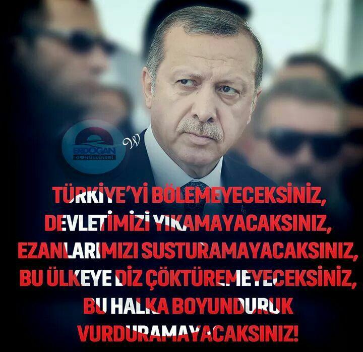 İŞTE O KADAR! #UzunAdam #Reis #RTE #Seninleyiz #ErdoğanGönüllüleri