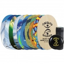 Indo Board Balance Trainer Training Pack with Art - Outer Banks Boarding Company