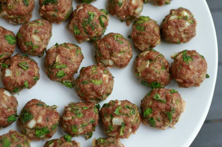 Spinach Cilantro Meatballs Grain Free Recipe Spinach