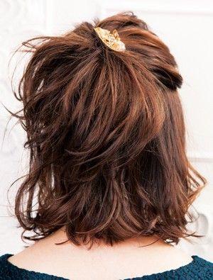 ラフに毛先を遊ばせたハーフアップで華オーラが  急上昇! - ヘアスタイルを探す | 愛され女子のヘアカタログ