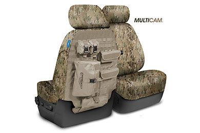 SKANDA Multi-Cam Camo Tactical Ballistic Seat Covers in stock now! Lowest Price Guaranteed.  Free Shipping & Reviews! Call the product experts at 800-874-8888.