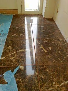 Tulikivi Ramona Brown natural stone tile.  #renovation