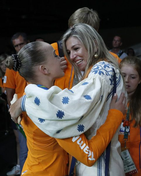 ♥•✿•QueenMaxima•✿•♥...Dutch Royals at the 10th Day of Rio Olympics