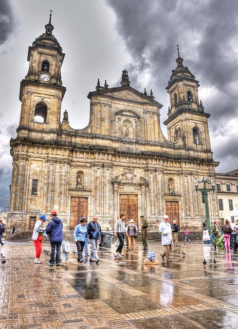 The Cathedral of Bogota was built between 1807 and 1823. When the Spanish conquerors officially founded the city of Bogotá (changing the original Indian name of the city, Bacata).