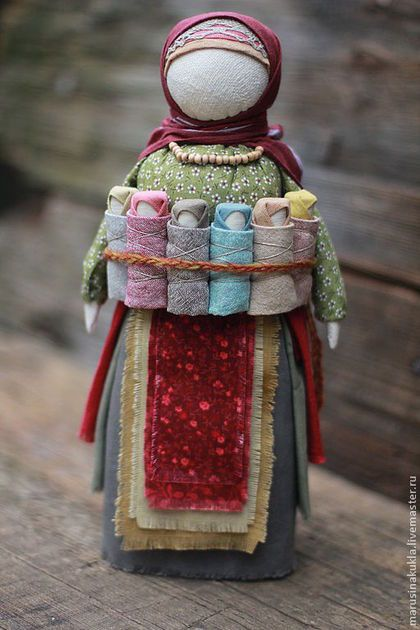 """Народные куклы ручной работы. Ярмарка Мастеров - ручная работа. Купить Кукла """"Московка"""". Handmade. Оберег, лён"""