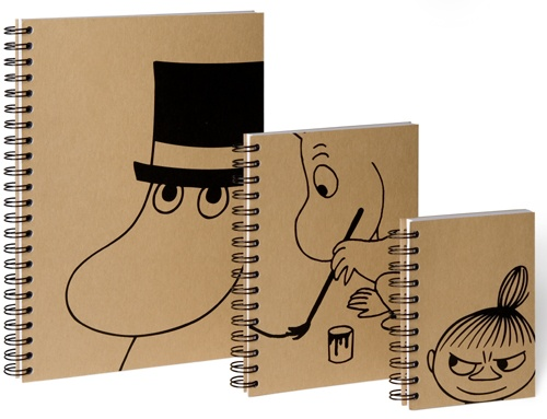 Moomin notebooks