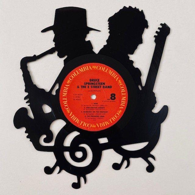 Bruce Clarence Vinyl Record Art Etsy In 2020 Vinyl Record Projects Vinyl Record Art Vinyl Records Diy