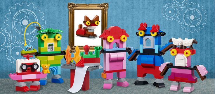 Have you ever thought of how many cool robots are potentially hiding in a seemingly innocent DUPLO collection? If you listen carefully, you can almost hear them in your brick bin trying to burst out and tell their stories.