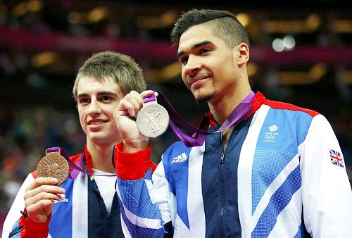 Team GB Medals 2012  38. Louis Smith - SILVER  39. Max Whitlock - BRONZE  (Gymnastics, Artistic: Men's Pommel Horse)