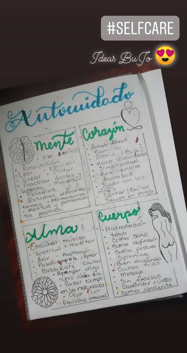 Journal Español, Bullet Journal School, Planners, Journaling, Notes, Organization, Tips, Recipes, Sketchbook Cover