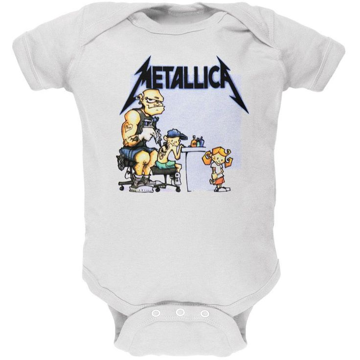 Metallica - Tattoo Baby One Piece