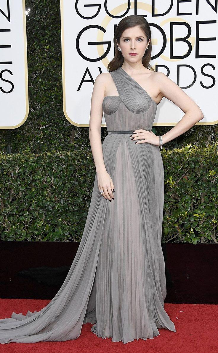 Анна Кендрик в Vionnet на церемонии вручения наград премии «Золотой глобус» в Лос-Анджелесе, 08 января 2017 г.