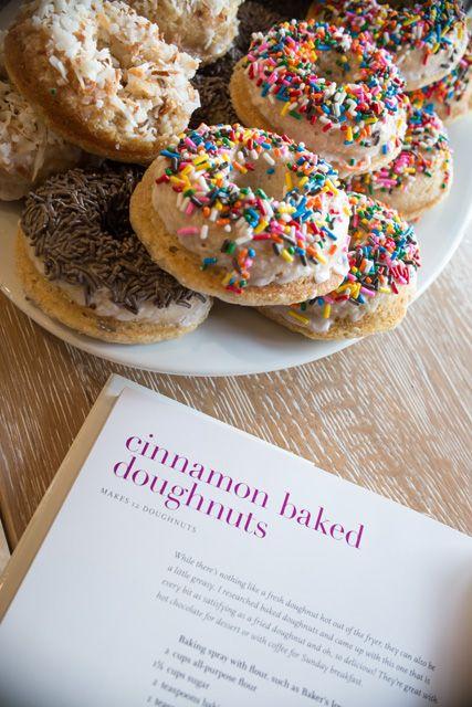Cinnamon Baked Doughnuts Recipe — Barefoot Contessa Foolproof