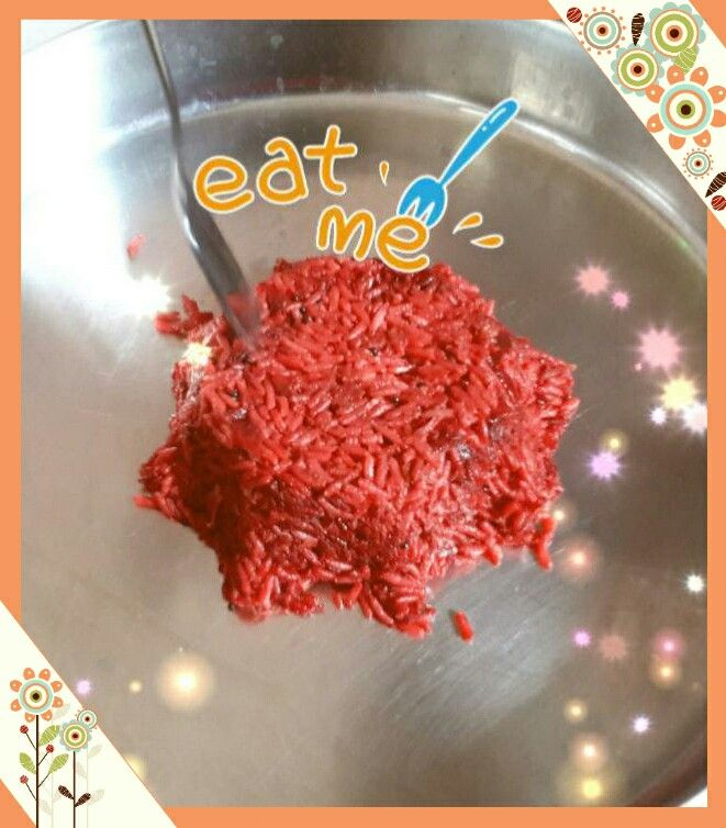 Delicious Beetroot Rice! !