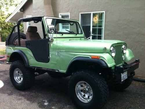 1976 cj5 jeep renegade restored