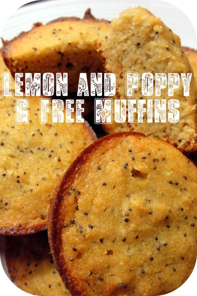 gluten free lemon poppy seed muffins more gluten free breakfast gluten ...