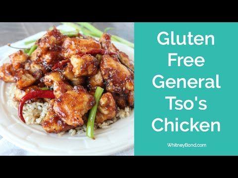 GLUTEN FREE GENERAL TSO'S CHICKEN - 29 MINUTE MEALS - YouTube