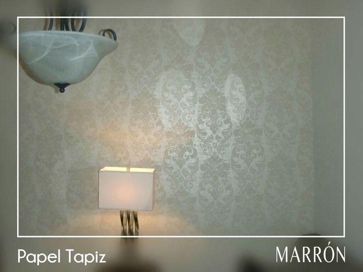 Decorar con papel tapiz es una de las opciones mas elegidas al momento de dar un toque diferente al hogar. Las paredes son las estructuras que mas se destacan en el hogar, por ello es bueno tomarlas en cuenta a la hora de decorar, ya que estas en muchas ocasiones son las que primero llaman la atención de las visitas.  En MARRÓN tenemos distintos tipos de papel tapiz, ven y nosotros te asesoramos. #estiloMARRÓN #Hermosillo #papeltapiz