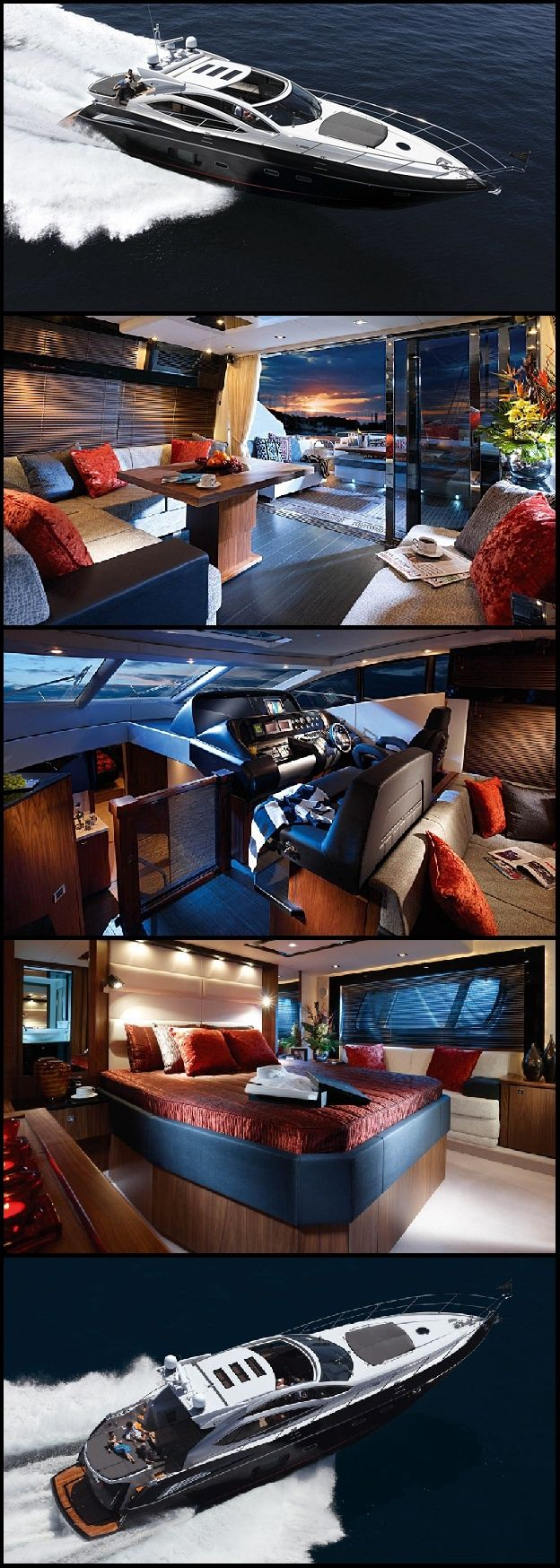 Who would have guessed all this space was in this boat? #boat #design All luxury…