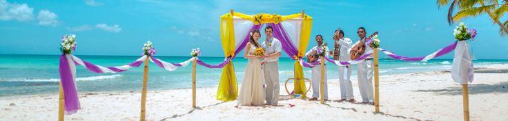 Свадьба в Доминикане, организация свадьбы в Доминикане. Domarried