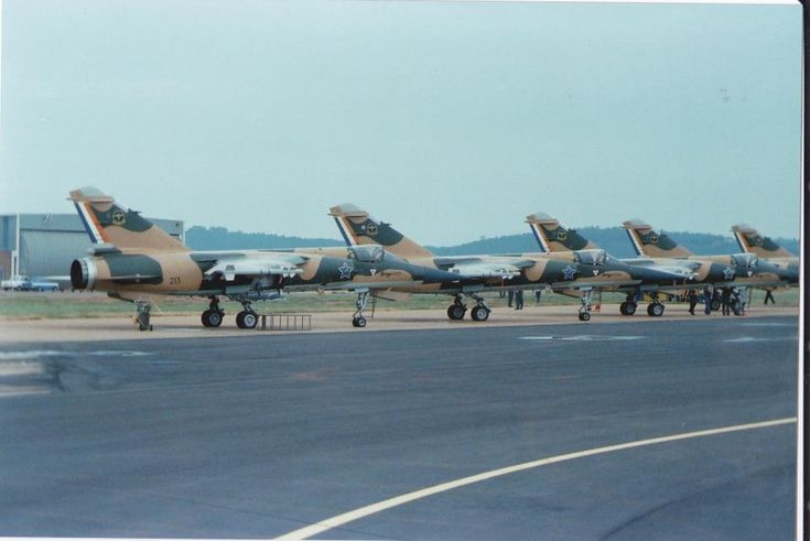 South African Air Force Mirage F1 CZ's