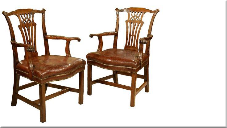 chippendale stílusú székek